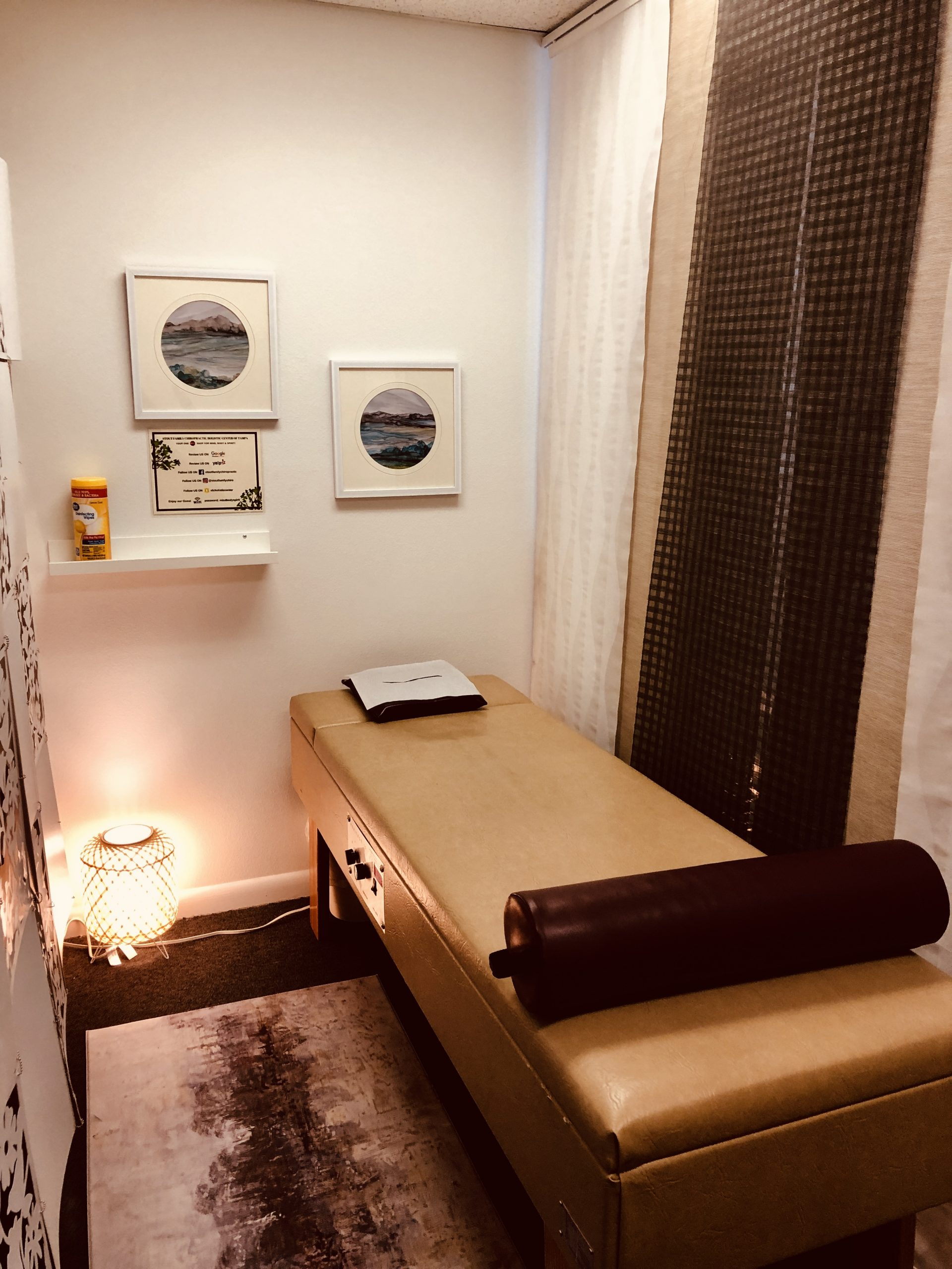 Room in stout family chiropractic office
