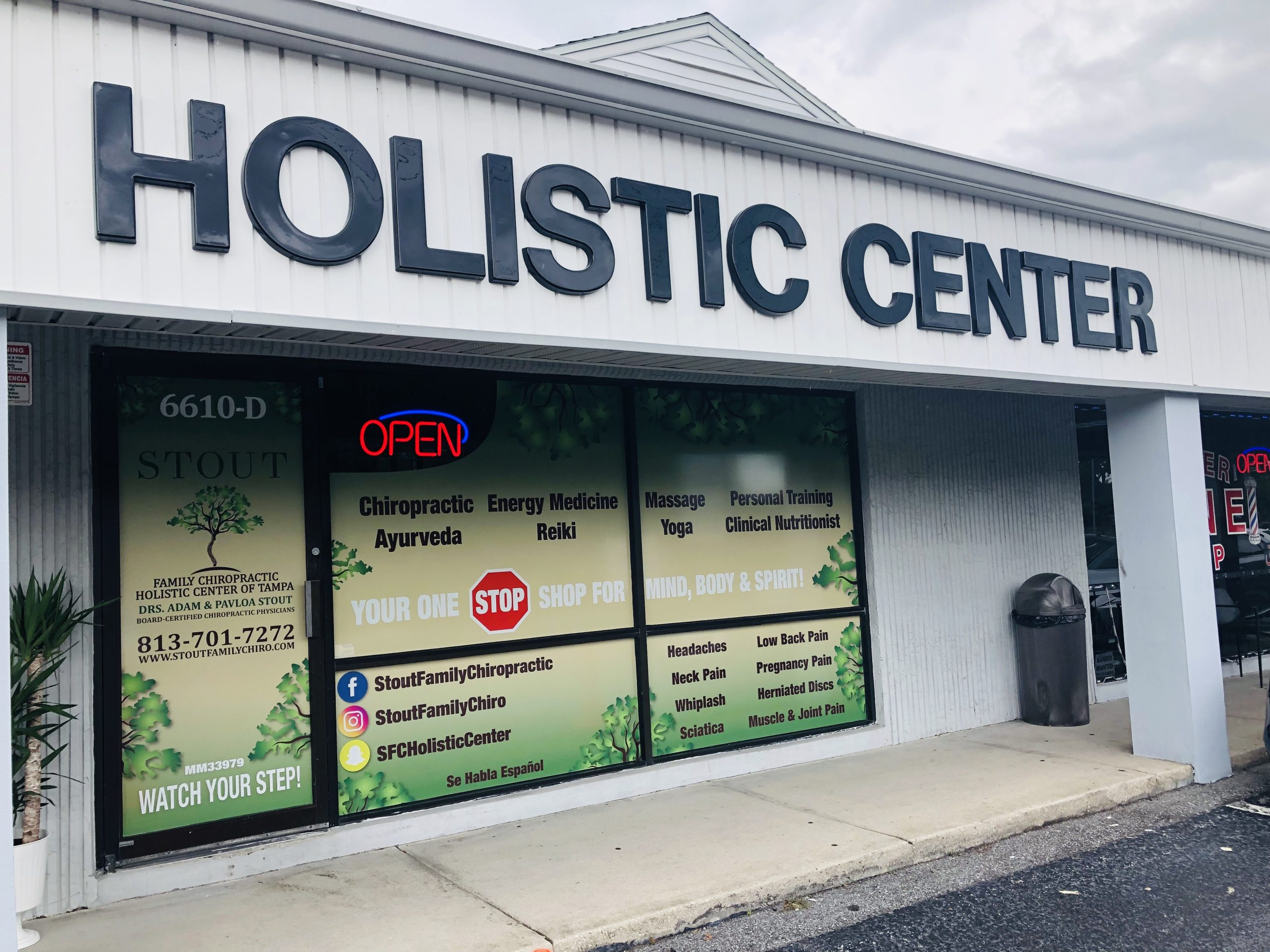 Holistic Center - Front of Office